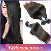 Malaysian Virgin Hair Straight Hair Bundles 5A 3PCS LOT Modern Show Hair Malaysian Straight Hair Extensions Wholesale price