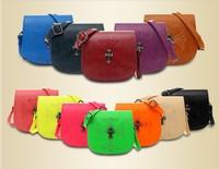Hot 2014 New Crow Heart Messenger bag handbag shoulder bag 12 colors good quality, free shipping