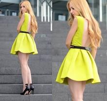 Green dress 2014 spring