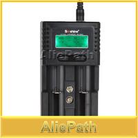 High Quality Soshine H2 Intelligent Universal LCD Display Battery Charger For 18650 Li-ion / AA AAA Ni-MH / LiFePO4 Batteries