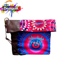 New Desigual fashion women's Shoulder bag Messenger bag Creative Design  women  handbag