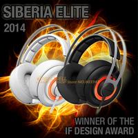 Steelseries Siberia Elite Gaming Headphone,LED Headphone,7.1 Soundcard, Free Shipping, in Stock