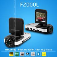 Car DVR F2000L Ambarella with FULL HD high definition video 1920*1080P Car black box Wholesales Retails. Freeshipping