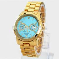 Luxury Brand New Ladies Women Dress Watch With Diamond Fashion Special Design Big Mark Brand Clock Quartz Watch Gift