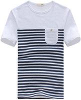 Top selling 2014 summer new hot short sleeve t-shirt for men casual slim men t shirt