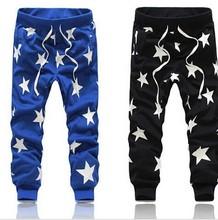 Men Pants Star Printing Sweatpants Men Jogger Pants Military Camouflage Outdoors Man Emoji Joggers Army Harem Pantalones Hip Hop(China (Mainland))