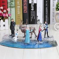 hot sell  Frozen Figure Play Set,Frozen Princess Anna Elsa 6 figure set,movie princess doll
