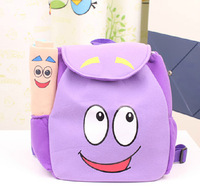 Children School Bag Cartoon adventurous dora backpacks Plush with Map Girls Kindergarten The Explorer Rescue Bag Wholesale