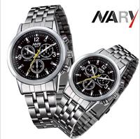 Hot selling Business Men Watches Quartz Watch Stainless band Wristwatch Uhr/Voir/horloge/hodinky/Gledaj/Assista/Klocka/Guarda