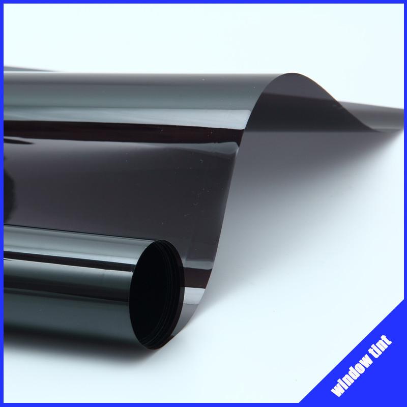 Free-shipping!! 0.5*3m/20''*118'' uv+insulation dark black Car window film window tint film(China (Mainland))