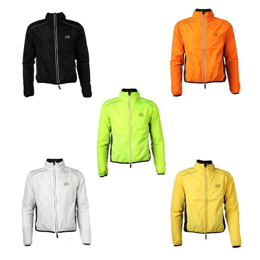 2014 TOUR DE FRANCE Breathable Bike Bicycle Cycling Cycle Waterproof Rain Coat Raincoat Wind Coat Windcoat Jersey Jacket, 6color(China (Mainland))