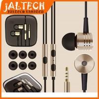 NEW 2014 OEM XIAOMI Piston Headphone Headset With Remote& Mic For XIAOMI MI2 MI2S MI2A M1 M3 With Retail Package
