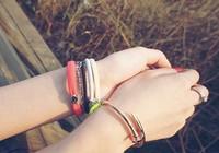 HOT!! Sale 14k gold plated titanium steel nail screw bracelet,nail bangle.christmas jewelry,free shipping
