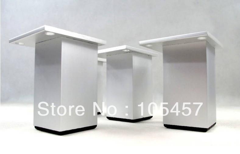 "Set Metal Furniture Cabinet Legs Bed Tea Table Chair Sofa Leg Feet 4pcs 4.8""(China (Mainland))"