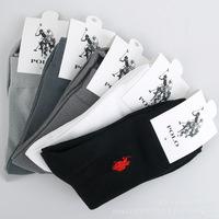 2014 PROMOTION Fashion men socks cotton Casual socks/High quality brand socks Men's sports socks 10pcs=5pairs/lot