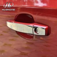 Car door handles cover door pull sticker Stainless steel Exterior decoration accessories,suitable for OPEL VAUXHALL MOKKA ENCORE