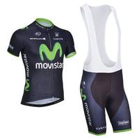 M0vistar 2014 Team cycling jersey/ cycling clothing/ cycling wear short (bib) suit