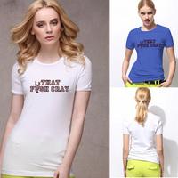 That Fish Cray Shirt Hot Cheap Women Round Neck Short Sleeve T Shirt With Logo