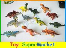 navio livre 12 pcs brinquedo do dinossauro conjunto plástico jogar jurassic dinossauro brinquedos figuras& ação modelo dinossauro t-rex melhor presente para os meninos(China (Mainland))