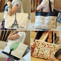 New Fashion Desigual Casual Canvas Bag Women Handbag Print Shoulder Bags Messenger Bags Totes Good quality ECO shopping bag