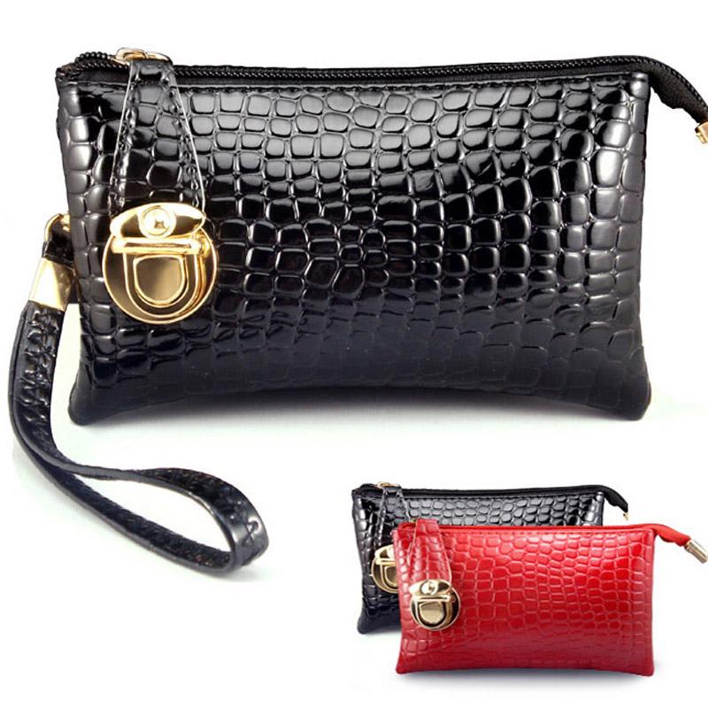 new 2014 designer brand leather women wallets desigual zipper hasp handbag ladies change purse female clutch(China (Mainland))