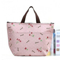 Fashion lunch bag insulated ice cooler bags thick mother baby thermal food container
