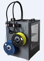 Dual Extruder/Nozzle - 200*200*250mm - Big Size 3D Printer - Black Metal Case - Heated Platform +2KG PLA Filament  - 3D Printers