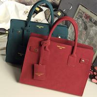 new arrive brand female bags Matte leather handbag single shoulder women messenger bag winter bag women leather handbags WM67