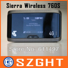 New Original LTE 100M 4G Router With Sim Card Slot Sierra AirCard 760S 4G LTE Wireless Router, PK AirCard 754S & 753S(China (Mainland))