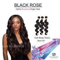 Grade 6a hair weave rose hair products Brazilian curly 3 bundles deals unprocessed aunty funmi hair virgin Brazilian body wave