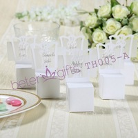 Free Shipping 408pcs Miniature Chair Place Card Holder and Favor Box BETER-TH005-A0