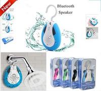 2014 newest waterproof FM radio shower bluetooth portable speaker with Retail box handfree music loudspeakers