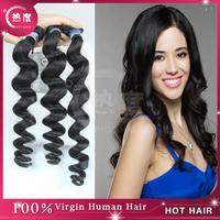 Grade 5A unprocessed peruvian virgin hair loose body wave hair 1pcs 2pcs 3pcs 4pcs lot Free shipping