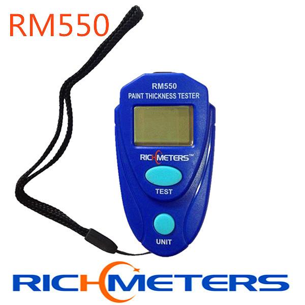 RM550 Digital LCD Coating Thickness Gau