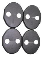 Door Lock Protective Cover for mazda 3(2011-2013) mazda 5(2008-2011) cx-5 mazda 2 Mitsubishi lancer lancer-ex x80 4pcs (MZD01)