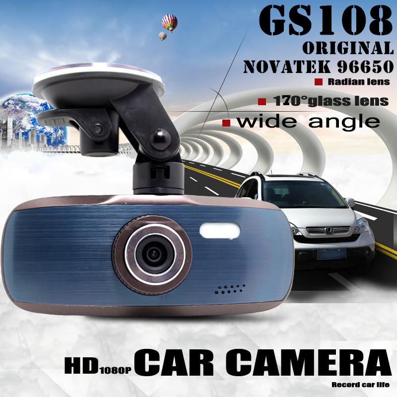 """Original Car DVR Video Recorder GS108 Novatek 96650 2.7"""" LCD Car Camera dvrs G-sensor Dash Cam Video Registrator FreeShipping!(China (Mainland))"""