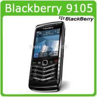 9105 Unlocked Original Blackberry Pearl 9105 Mobile Cell Phone 3G WIFI GPS 1 year warranty