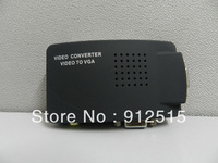 AV/S Video To VGA TV CCTV BNC/RCA S-Video AV to VGA Converter Adapter Converter
