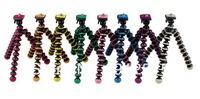 Free ship Multicolors Gorillapod Camera Tripod Octopus Holder/Stand w/Rotating Ball Mini Tripod For Universal Camera