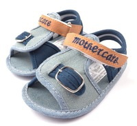 Baby Boy Sandals Toddler Soft Sole First Walkers Infant Boy Summer Shoes 2014 New Fashion Footwear Drop Free Shipping Wholesale