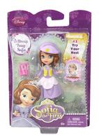 Free Shipping Original Disny Princess Sofia doll toys Sofia the First Buttercup Troop Sofia mini Figure toy dolls for girls