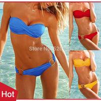 1pc New 2014 Sexy Women Bikini Set Victoria Swimwear Summer Beach Bathing Suit Bikinis -- WBK29 Wholesale