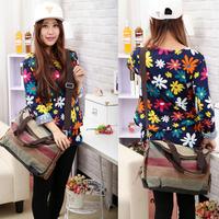 K-988 high quality Fashion Messenger Bags Canvas Super patchwork canvas bag Shopping Tote Handbag Casual Shoulder Bag