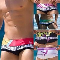 New Fashion Men's Swiming Trunks Mens Swim Trunks Slim Swimwear