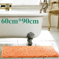 Free shipping chenille carpet mats doormat kitchen bathroom bath mats absorbent non-slip mat (60 * 90) tapete can be customized