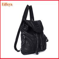 New&Hot 2015 Fashion Genuine Leather Women Backpack/Women Travel Bags Tassel Sweet Beautiful Gril'S School Backpacks Bag PH10