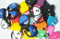 On sale new 2014 hot sell kpop kawaii CUTE Luxury fashion designes handbag Bag dust plug for earphone jack plug retail package