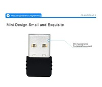 Comfast WU715N 802.11 n/g/b LAN Ralink RT5370 Chiset 150Mbps Mini USB Wireless WiFi adapter