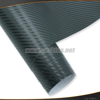 Styling Automotive 3D carbon fiber wrap vinyl sticker,car body adhesive roll film  air bubble free