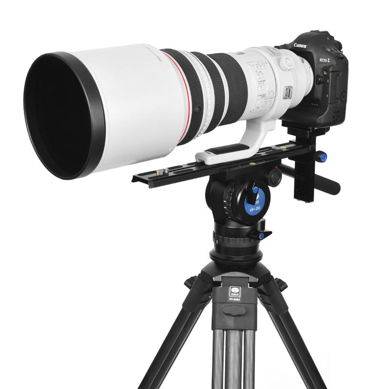 Sirui vp350 kamera schnellwechselplatte für vedio kopf vh-15 für Teleobjektiv aluminiumplatte professionelle versandkostenfrei